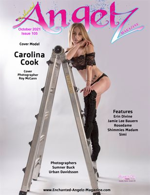 ENCHANTED ANGELZ MAGAZINE - Cover Model Carolina Cook - October 2021