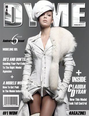 DYME Magazine Issue Featuring Claudia Dyran