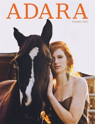 ADARA MAGAZINE OCTOBER 2012