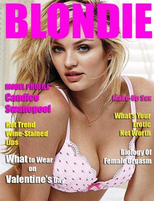 Blondie Magazine - January 2015