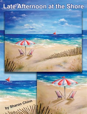 Late Afternoon at the Shore Painting Pattern by Sharon Chinn