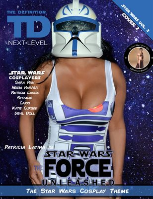 TDM Cosplay Patricia Latina Star Wars Vol.3  Cover2