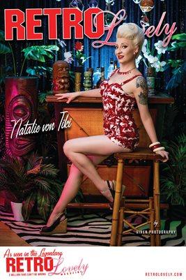 Natalie Von Tiki Poster