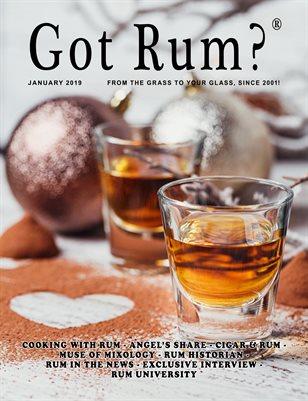 """""""Got Rum?"""" January 2019"""