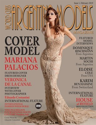 World Class Argentina Models Magazine Issue 1 with Mariana Palacios