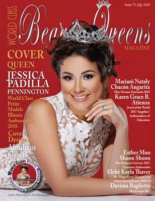 World Class Beauty Queens Magazine, Issue 75, Jessica Padilla Pennington
