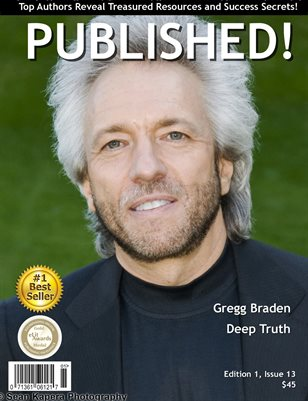 PUBLISHED! Magazine featuring Gregg Braden