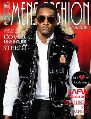World Class Mens Fashion Magazine with Stello