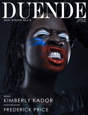 Duende Magazine_Issue 39_RedWhiteBlue