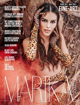 MARIKA MAGAZINE FINE-ART (ISSUE 931 - MAY)
