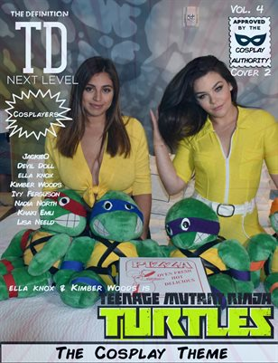 TDM Cosplay Vol.4 ella knox & Kimber Woods Cover2