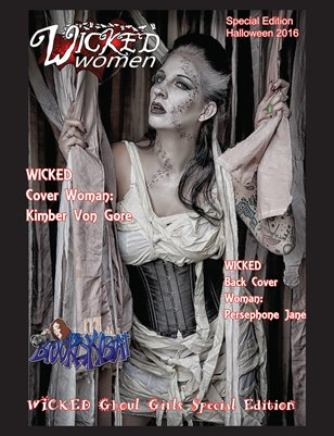 WICKED Women Magazine-WICKED Ghoul Girls Special Edition: Halloween 2016
