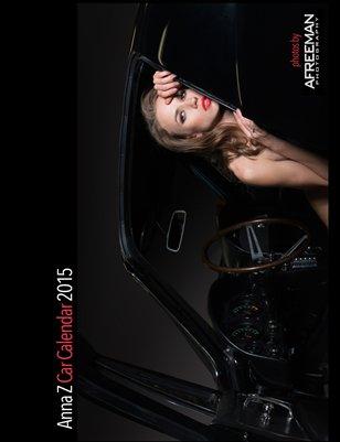 Anna Zarubina Car Calendar 2015