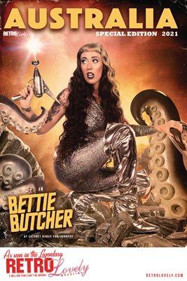 AUSTRALIA SPECIAL EDITION 2021 - Bettie Butcher Cover Poster