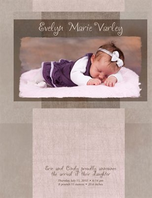 Evelyn Marie Varley - Memory Book