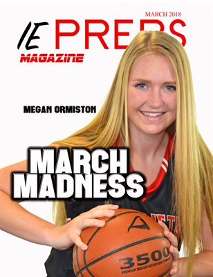 IE Preps Magazine March Issue Megan Ormiston Cover