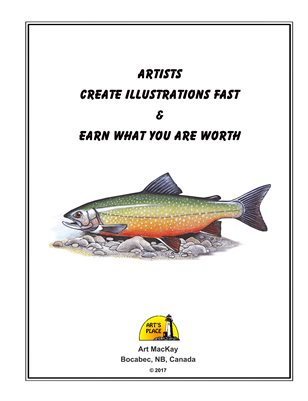 How to create illustrations FAST and earn what you are worth