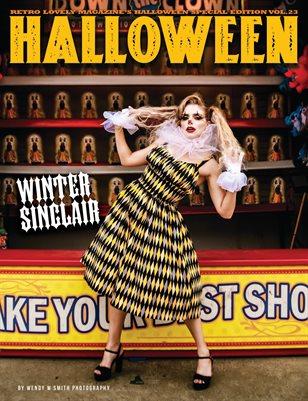 Halloween 2021 Vol.23 – Winter Sinclair Cover