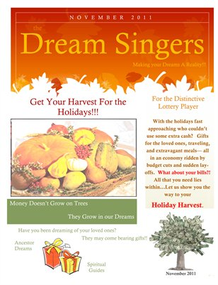 Dream Singers Magazine