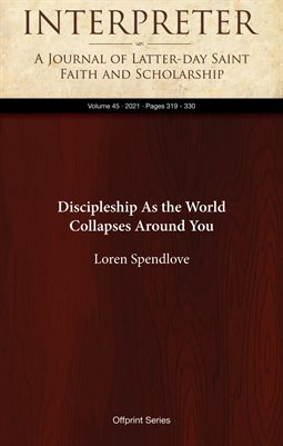 Discipleship As the World Collapses Around You