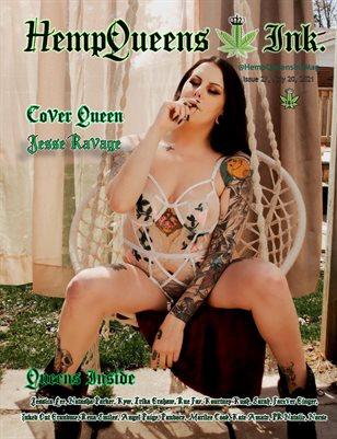 HempQueens Ink. Magazine ~ Issue 27~ Jesse Ravage