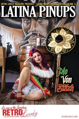 Latina Pinups Special Edition Vol.3 – Mo Von Stitch Cover Poster