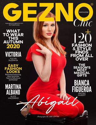 GEZNO Magazine October 2020 Issue #02