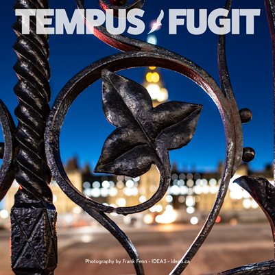 Tempus Fugit Project Manager Calendar 2021 Ottawa Parliament