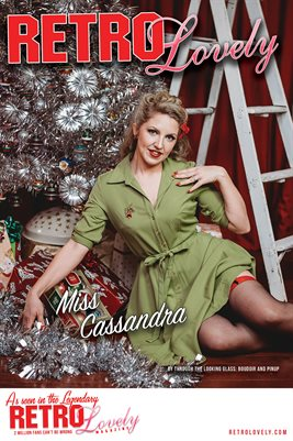 Miss Cassandra Holiday 2020 Cover Poster