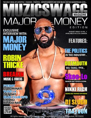 Muzicswagg Magazine August 2013