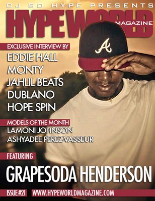 HYPE WORLD MAGAZINE ISSUE #21