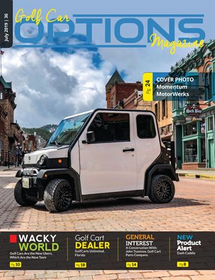 Golf Car Options Magazine - July 2019