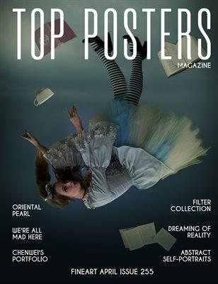 TOP POSTERS MAGAZINE - APRIL, FINEART (Vol 255)