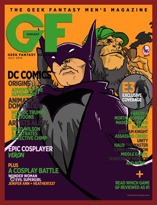 Geek Fantasy - July 2014 - Variant: Prof Chimp