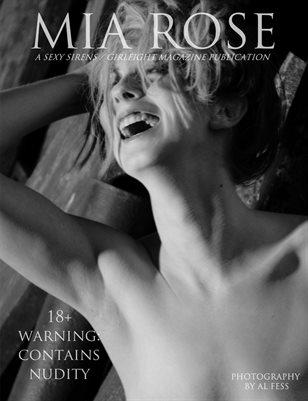 Mia Rose Naked & In Black & White   A Sexy Sirens Magazine