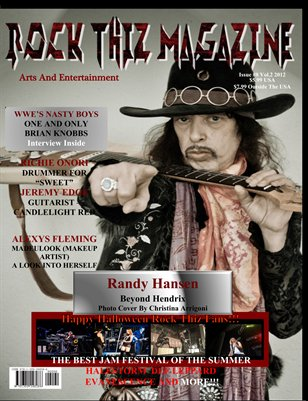 Rock Thiz Magazine issue #8 Vol.2 Oct 2012
