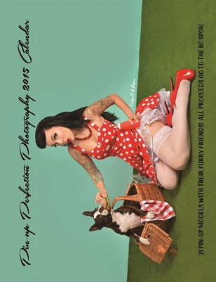 Pin-up Perfection's 2015 Pin-up and Pets Calendar!
