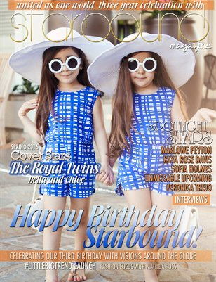 Starbound Magazine - 3rd Anniversary Edition Cover Choice 1
