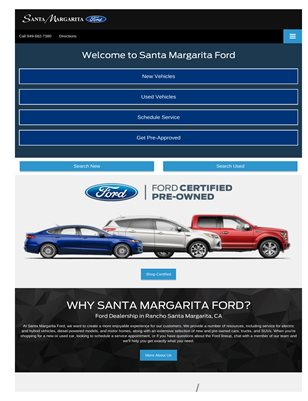 New Ford in Orange county