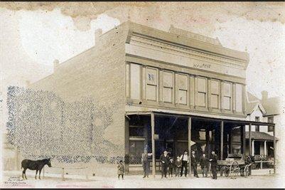 Crice & Wilford Store in Barlow, Ballard County, Kentucky