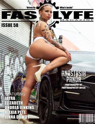 FASS LYFE MAGAZINE ISSUE 58 FT. ANASTASIA PANDA