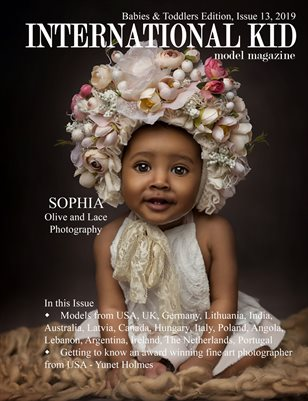 International Kid Model Magazine Babies & Toddlers Edition