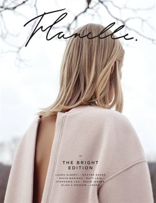 Flanelle Magazine Issue 10 - The Bright Edition Cover 1