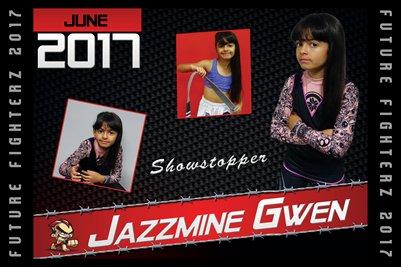Jazzmine Gwen Cal Poster 2017