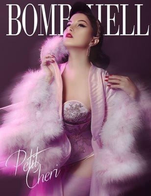 BOMBSHELL Magazine January BOOK 2 - Petit Cheri Cover