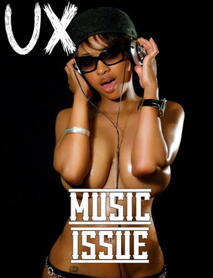 UX Magazine Issue 10 (The Music Issue) Cover 1 The Monthly Coffee Table Book For The Glamour Enthusiast