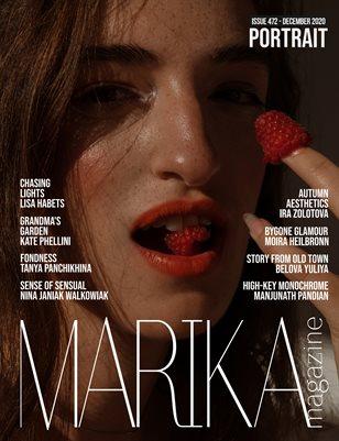 MARIKA MAGAZINE PORTRAIT (DECEMBER-ISSUE 472)