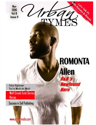 Urban Tymes November Featuring Romonta Cover 2