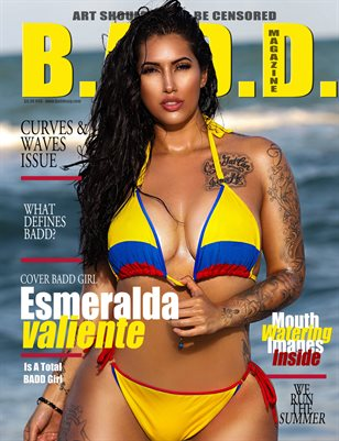 Curves & Waves issue (Esmeralda Valiente Cover)