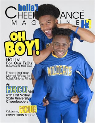HOLLA'! Cheer and Dance Magazine - Spring 2019 Issue